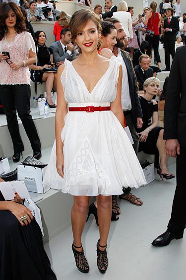 Chanel 1 - Celebridades en la colección Alta Costura Otoño-Invierno 2010-2011